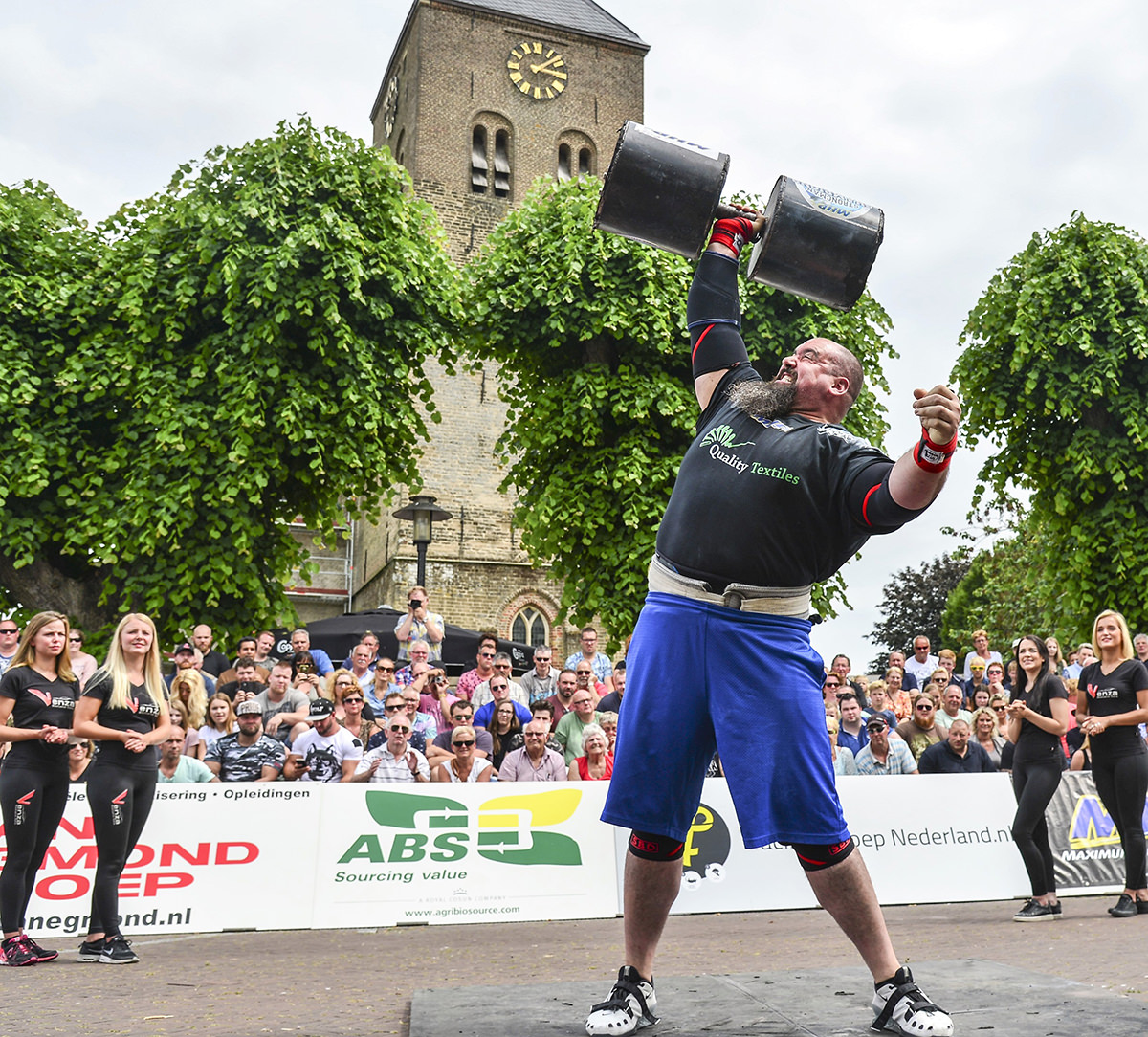 Eric Dawson To Defend His Title At The Scl Holland