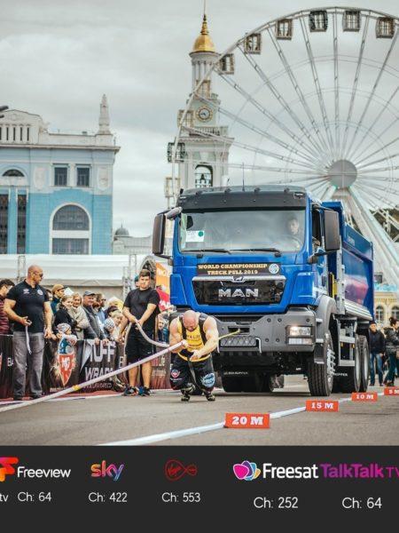 World's Strongest TruckPuller